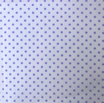Punkte 3mm klein, weiß-flieder